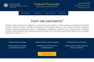 Gabriel Porawski - Rzeczoznawca Samochodowy, Doradztwo Techniczne, Biegły Sądowy - Doradztwo Inżynieryjne Krosno