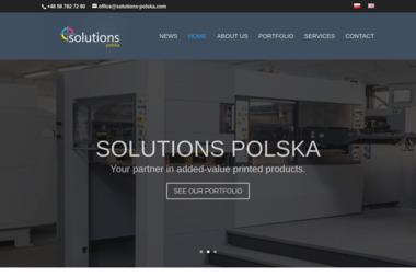 Solutions - Polska Sp. z o.o. - Introligator Gdynia