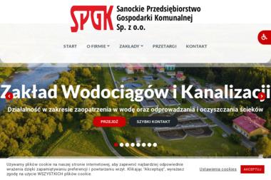 Sanockie Przedsiębiorstwo Gospodarki Komunalnej Sp. z o.o. - Wywóz Ziemi Sanok