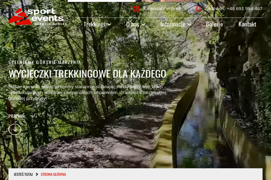 Sport Events biuro turystyki i sportu - Turystyka, sport, rekreacja, usługi Żywiec