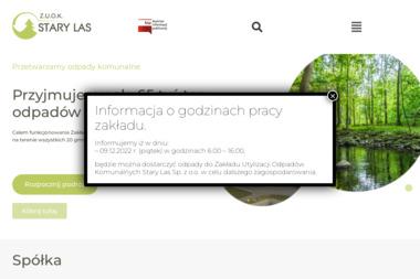 Zakład Utylizacji Odpadów Komunalnych Stary Las Sp. z o.o. - Odbiór Gruzu Starogard Gdański