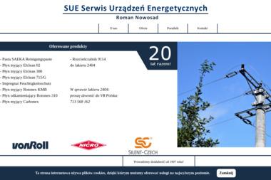 Sue Serwis Urządzeń Energetycznych Nowosad Roman - Naprawa Urządzeń Elektrycznych Gliwice