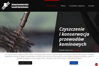 Kominiarz Leszek Bartosiewicz Usługi Kominiarskie - Czyszczenie Kominów Brwinów