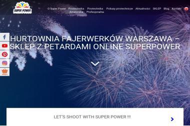 Super Power Sp. z o.o. - Pokaz Sztucznych Ogni na Weselu Pęcice