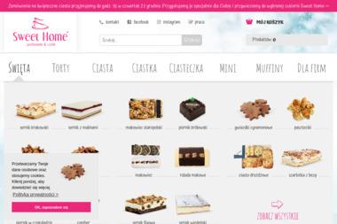 Cukiernia Sweet Home. Ciasta, torty okolicznościowe - Cukiernia Izabelin C