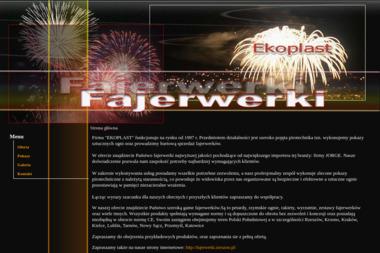 Ekoplast Fajerwerki - Pokazy Pirotechniczne Rzeszów