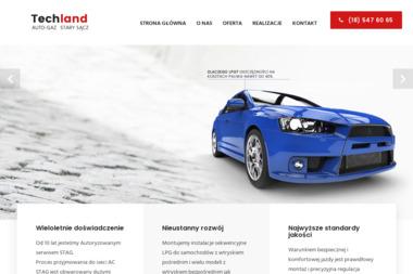TECHLAND - Auto gaz Stary Sącz