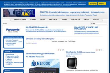 Telepol SC. Sprzedaż, montaż, serwis central telefonicznych - Serwis telefonów Katowice