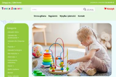 Hurtownia Zabawek i art. przemysłowych Tomex Tomasz Wojtoń - Pirotechnika Kraków