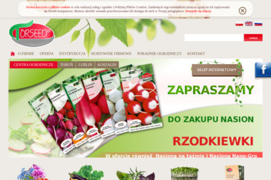 Przedsiębiorstwo Nasiennictwa Ogrodniczego i Szkółkarstwa Torseed - Zioła Toruń