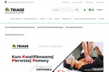 Triage Sp. z o.o. - Pierwsza Pomoc dla Dzieci Wrocław