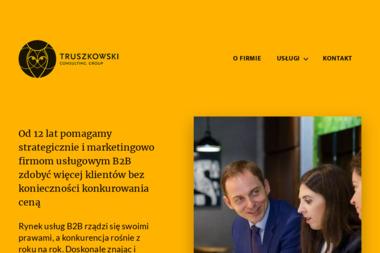 Truszkowski Consulting Group. Finanse, wycena przedsiębiorstw, wycena spółek - Wycena Udziałów Poznań