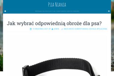 Twoja Psia Niania. Hotel dla zwierząt, opieka nad psem - Wyprowadzania psów Straszyn