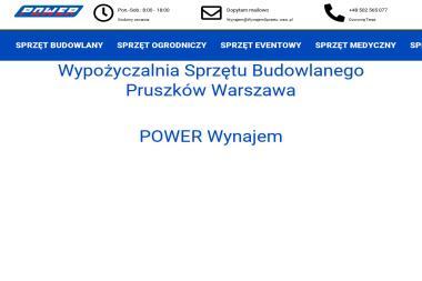 Wypożyczalnia Sprzętu Budowlanego Jacek Jordan - Zagęszczarki nowe Pruszków