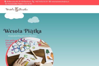 Przedszkole Niepubliczne Wesoła Piątka - Przedszkole Świdnica