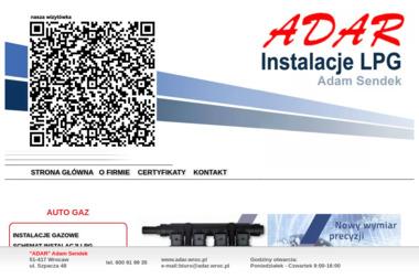 """""""ADAR"""" Adam Sendek - Auto gaz Wrocaw"""