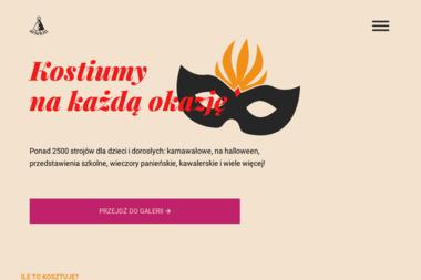 """""""ARLEKIN"""" - Wypożyczalnia strojów Gdynia"""