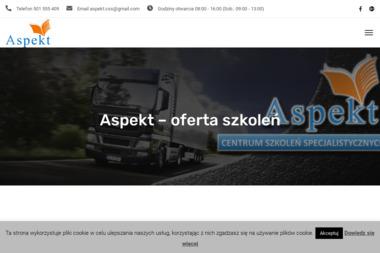 ASPEKT Centrum Szkole艅 Specjalistycznych - Szkolenia Cz臋stochowa