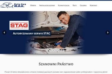 Auto-Gaz M.A.K - Montaż LPG Luzino