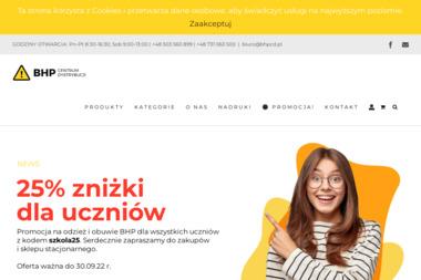 CENTRUM DYSTRYBUCJI BHP MARCIN JANKIEWICZ - Firmy odzie偶owe Bydgoszcz