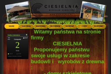 Ciesielnia Mirosław Nowocień - Stolarka Aluminiowa Nowa Słupia