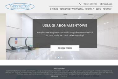 Clean office sp. z o.o. - Mycie okien w firmie Bydgoszcz