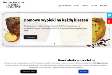 Wypieki Domowe Dariusz Sieradzki - Cukiernia Stanisławów Pierwszy