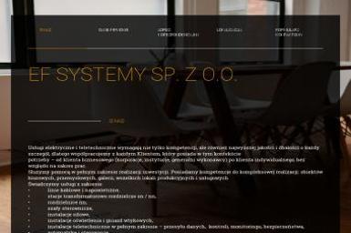 EF Systemy sp zoo - Instalatorstwo telekomunikacyjne Luboń