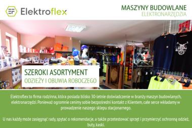 ELEKTROFLEX - Sprzęt Budowlany Szczecin