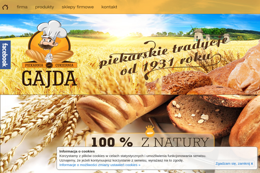 Piekarnia Cukiernia Gajda - Cukiernia Radom