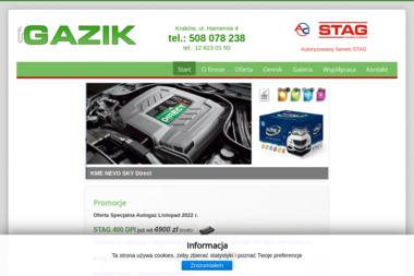 Auto Gaz GAZIK - Auto gaz Kraków
