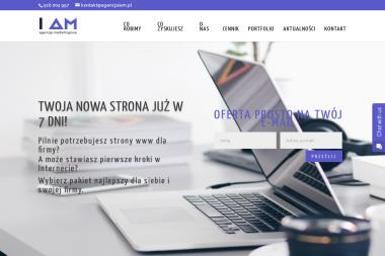 """""""I AM Agencja Marketingowa"""" - Pozycjonowanie stron Zembrzyce"""