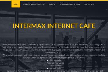 INTERMAX - Oprawianie Dokumentów Wrocław