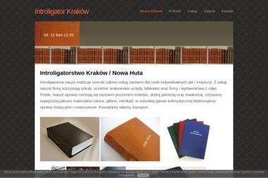 Zakład Introligatorski Grzywa Wojciech - Sztancowanie Kraków