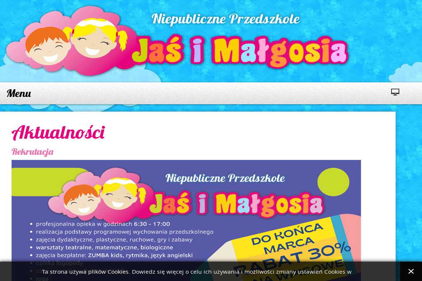 """Niepubliczne Przedszkole """"Jaś i Małgosia"""" - Przedszkole Koszalin"""