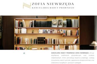 Kancelaria Radcy Prawnego Zofia Niewrzęda - Obsługa prawna firm Poznań