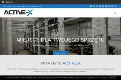 ACTIVE-X Sp. z o.o. - Usługi Kościan