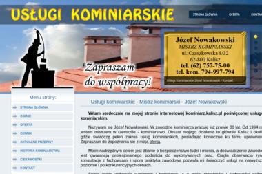 Usługi kominiarskie Józef Nowakowski - Kominiarz Kalisz