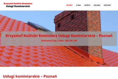 Krzysztof Koźlicki Kominiarz - Chemiczne Czyszczenie Komina Poznań