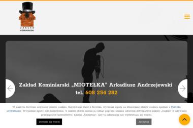 Zakład Kominiarski Andrzejewski Arkadiusz Miotełka - Chemiczne Czyszczenie Komina Wilkowyja