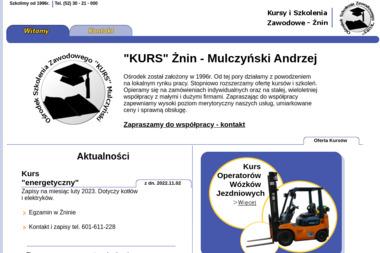 """Ośrodek Szkolenia Zawodowego """"KURS"""" - Szkolenia Żnin"""