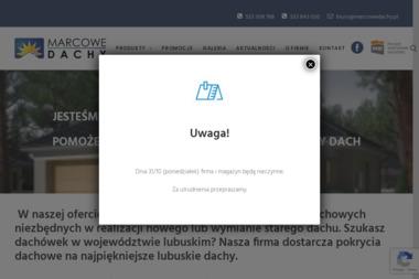 Marcowe Dachy - Pokrycia dachowe Raków