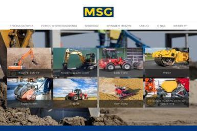 MSG - Roboty ziemne Węgorzyno