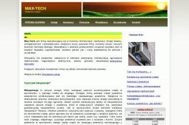 Max-Tech - Energia Odnawialna Krosno