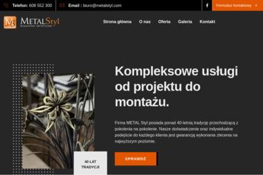 Metal Styl Kowalstwo Artystyczne - Ogrodzenia Siedlce