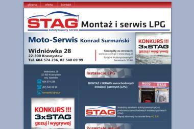 MOTO Serwis - Montaż LPG Krasnystaw