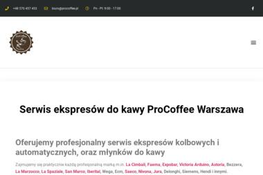 Profesjonalny Serwis Ekspresów - Ekspresy do Kawy Warszawa