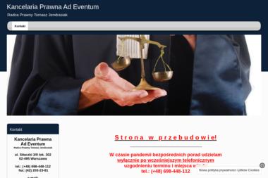 Kancelaria Prawna Ad Eventum Radca Prawny Tomasz Jendrasiak - Skup długów Warszawa