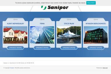 Sanipor - Wywóz Gruzu Gdynia