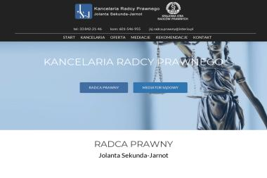 Kancelaria Radcy Prawnego Jolanta Sekunda - Jarnot - Obsługa prawna firm Oświęcim